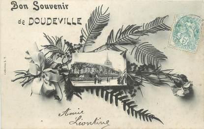 """CPA FRANCE 76 """" Doudeville, Vue""""."""