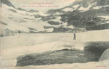 """CPA FRANCE 65 """" La Mer de Glace du Mont Perdu""""."""