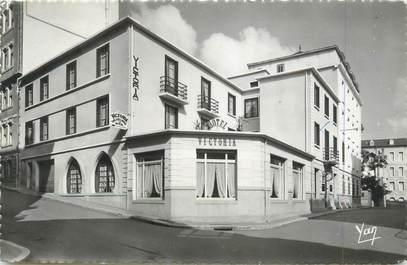 "CPSM FRANCE 65 "" Lourdes, Victoria et Wilherlmina Hôtel""."