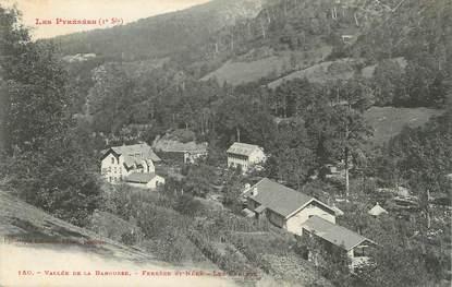 """CPA FRANCE 65 """" Vallée de la Barousse, Ferrère St Néré, Les chalets""""."""