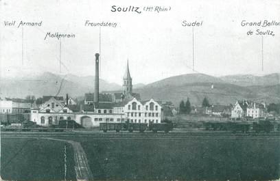 """CPA FRANCE 68 """" Soultz""""."""