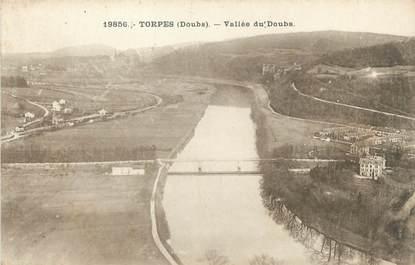 """CPA FRANCE 25 """"Torpes, Vallée du Doubs""""."""
