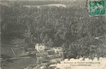 "CPA FRANCE 25 ""Environs de St Hippolyte, Vallombreuse""."