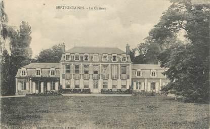 "CPA FRANCE 25 ""Septfontaines, Le château""."