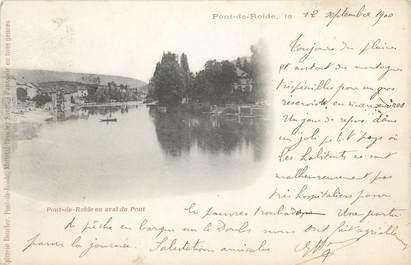 """CPA FRANCE 25 """"Pont de Roide""""."""