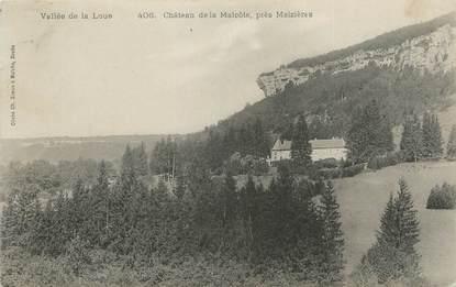 """CPA FRANCE 25 """"La Malcôte, Le château""""."""