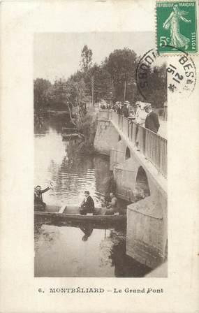 """CPA FRANCE 25 """" Montbéliard, Le Grand Pont""""."""