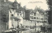 """25 Doub CPA FRANCE 25 """" Montbéliard, Les vieilles maisons sur la Luzine""""."""