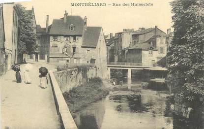"""CPA FRANCE 25 """" Montbéliard, Rue des Huisselets""""."""