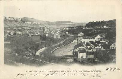 """CPA FRANCE 25 """" Ornans, Vallée de la Loue""""."""