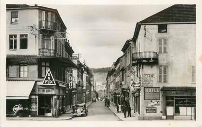"""CPSM FRANCE 25 """"Pontarlier, Rue de la gare""""."""
