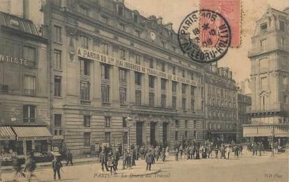 """CPA FRANCE 75010 """"Paris, la Bourse du Travail"""""""