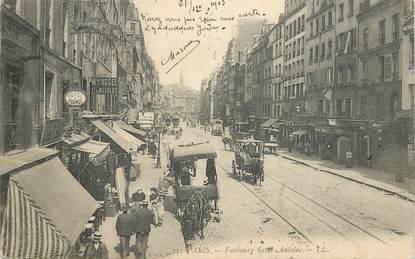 """CPA FRANCE 75011 """"Paris, Faubourg Saint Antoine"""""""