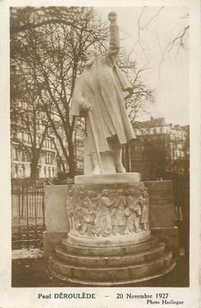 """CPA FRANCE 75008 """"Paris, 1927, Monument Paul Déroulède"""""""