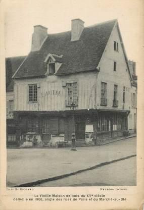 """CPA FRANCE 75015 """"Paris, rue de Paris et rue du Marché au Blé"""""""
