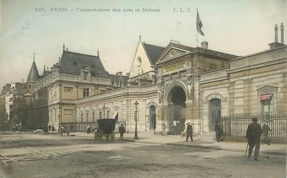 """CPA FRANCE 75003 """"Paris, le Conservatoire des Arts et Métiers"""""""