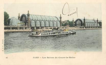 """CPA FRANCE 75008 """"Paris, les Serres du Cours la Reine"""""""