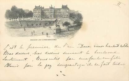 """CPA FRANCE 75006 """"Paris, le Palais du Luxembourg"""""""