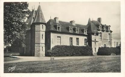 """CPSM FRANCE 14 """" Mézidon, Le château du Breuil""""."""