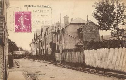 """CPA FRANCE 14 """"Livarot, Cité ouvrière""""."""