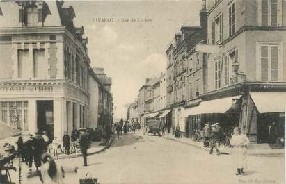 "CPA FRANCE 14 ""Livarot, Rue de Lisieux""."