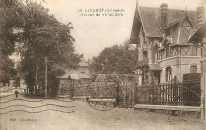 "CPA FRANCE 14 ""Livarot, Avenue de Vimoutiers""."