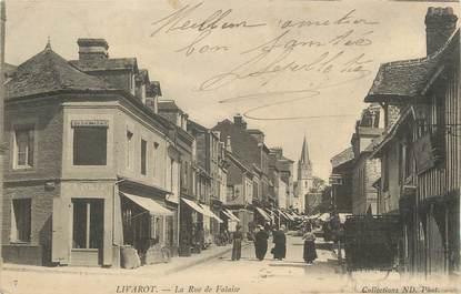 "CPA FRANCE 14 ""Livarot, Rue de la Falaise"";"