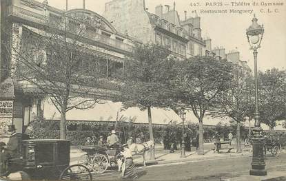 """CPA FRANCE 75010 """"Paris, Théâtre du Gymnase"""""""