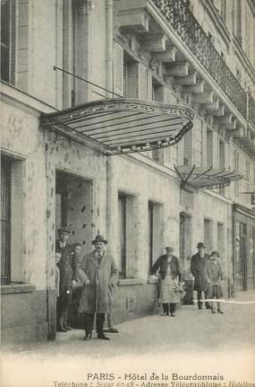 """CPA FRANCE 75007 """"Paris, Hotel de la Bourdonnais"""""""