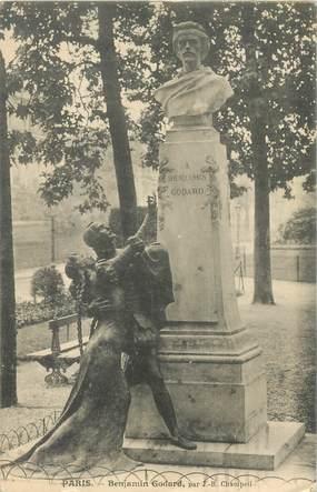 "CPA FRANCE 75016 ""Paris, Buste de Benjamin Godard"""