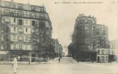 """CPA FRANCE 75013 """"Paris, Rue du Moulin des Prés"""""""