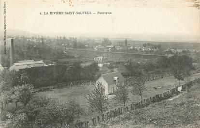 """CPA FRANCE 14 """"La Rivière St Sauveur, Panorama""""."""