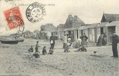 """CPA FRANCE 14 """"Lion sur Mer""""."""
