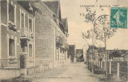 """CPA FRANCE 14 """"Langrune, Avenue de l'Est""""."""