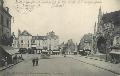 """CPA FRANCE 14 """"Falaise, La place St Germain """"."""