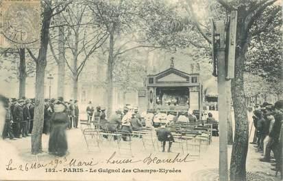 """CPA FRANCE 75008 """"Paris, Aux Champs Elysées, le Théâtre Guignol"""""""