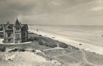 """CPSM FRANCE 14 """"Le Home sur Mer, La plage""""."""