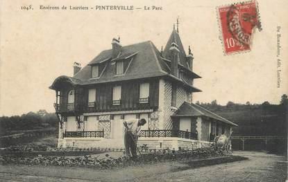 """CPA FRANCE 27 """"Pinterville, Le Parc""""."""