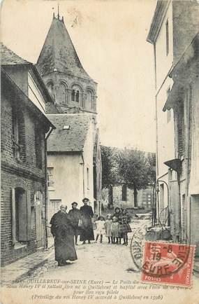 """CPA FRANCE 27 """" Quillebeuf sur Seine""""."""
