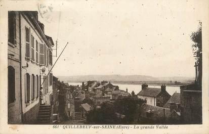 "CPA FRANCE 27 "" Quillebeuf sur Seine, La grande vallée""."