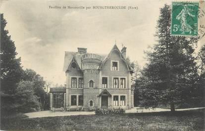 """CPA FRANCE 27 """"Par Bourgtheroulde, Le Pavillon de Marcouville""""."""
