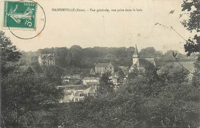"""CPA FRANCE 27 """"Mainneville, Vue générale """"."""