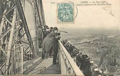 """CPA FRANCE 75008 """"Paris, la Tour Eiffel"""""""