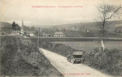 """CPA FRANCE 27 """"Ménesqueville, Vue d'ensemble """"."""