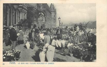 """CPA FRANCE 75004 """"Paris, Le Quai aux fleurs"""""""