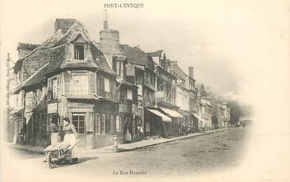 "CPA FRANCE 14 ""Pont l'Evêque, la Rue Hamelin"""