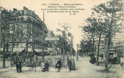 """CPA FRANCE 75013 """"Paris, Le Métro"""""""