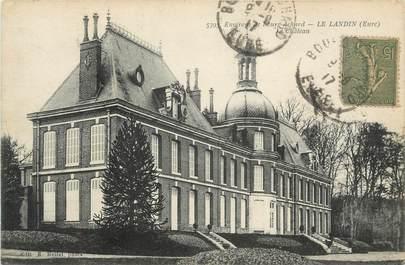 """CPA FRANCE 27 """"Le Landin, Le château""""."""