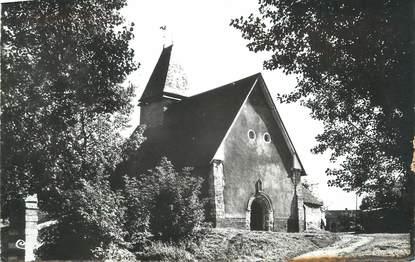 """CPSM FRANCE 27 """"Grainville, L'église""""."""