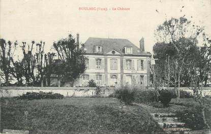 """CPA FRANCE 27 """"Houlbec, Le château""""."""